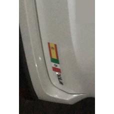 Imán Impreso Bandera (12cm x 6cm)