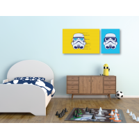 Canvas Individual Mediano Star wars