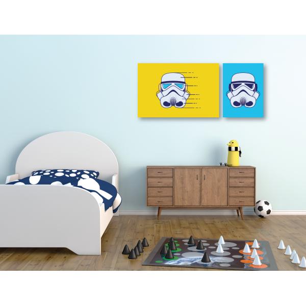 Canvas Individual Mediano Star wars