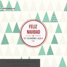 Navidad Fondo de Pinos color verde y beige