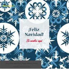 Navidad envoltura fondo azul con estrellas